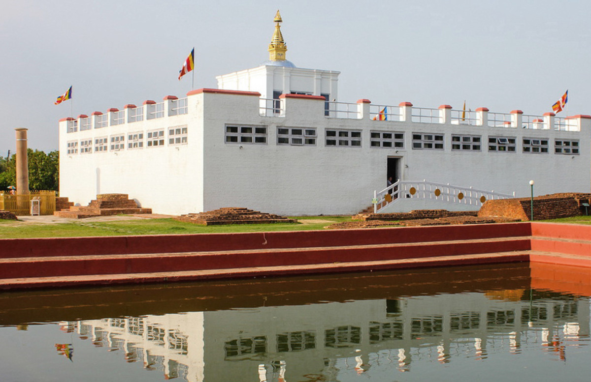 Mayadevi Temple in Lumbini is dedicated to the mother of the Buddha.