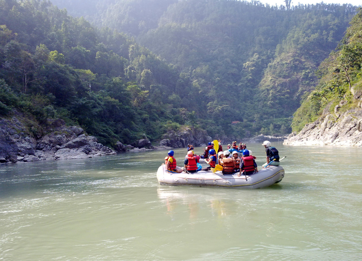 Nepal is a popular destination for White Water Rafting and Kayaking
