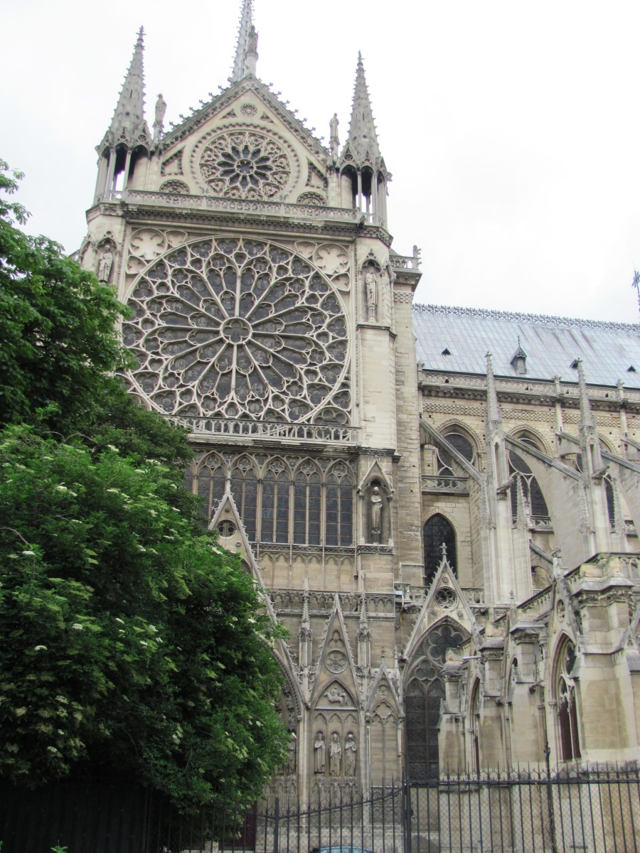 Going to Paris?  With its stained glass windows, Notre Dame is a must see.