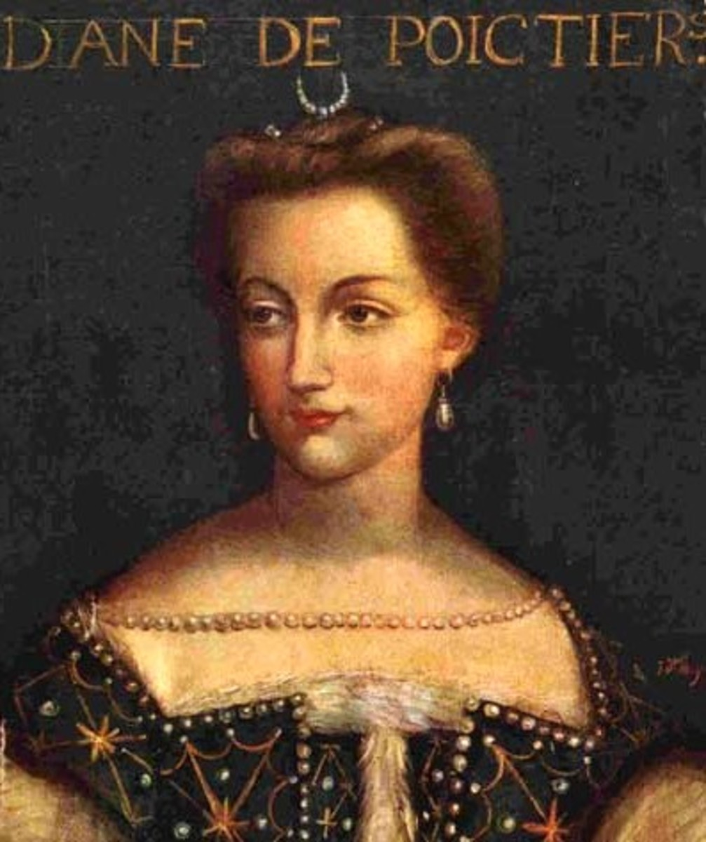 Diane de Poitiers had a 25-year affair with married King Henry II.