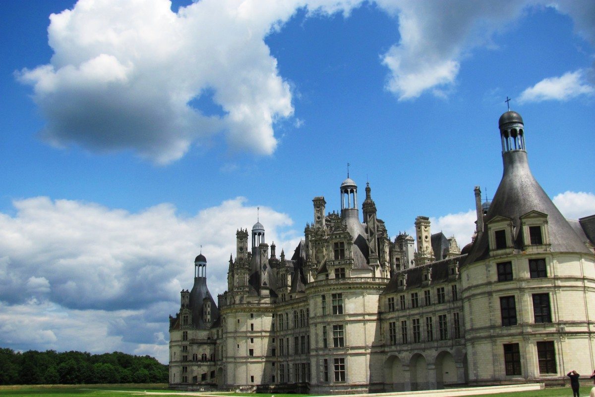 Francis only spent 72 days at Chambord and never saw his lifelong project completed.