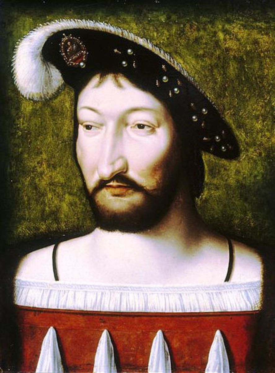 King Francis I was known for his disproportionately large honker.  They say that he was considered otherwise attractive.  After all, he was king.