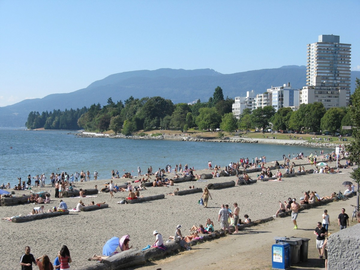 English Bay Beach or First Beach