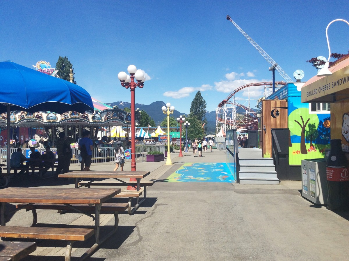 Space that would likely be filled during the summer and the fair at the PNE