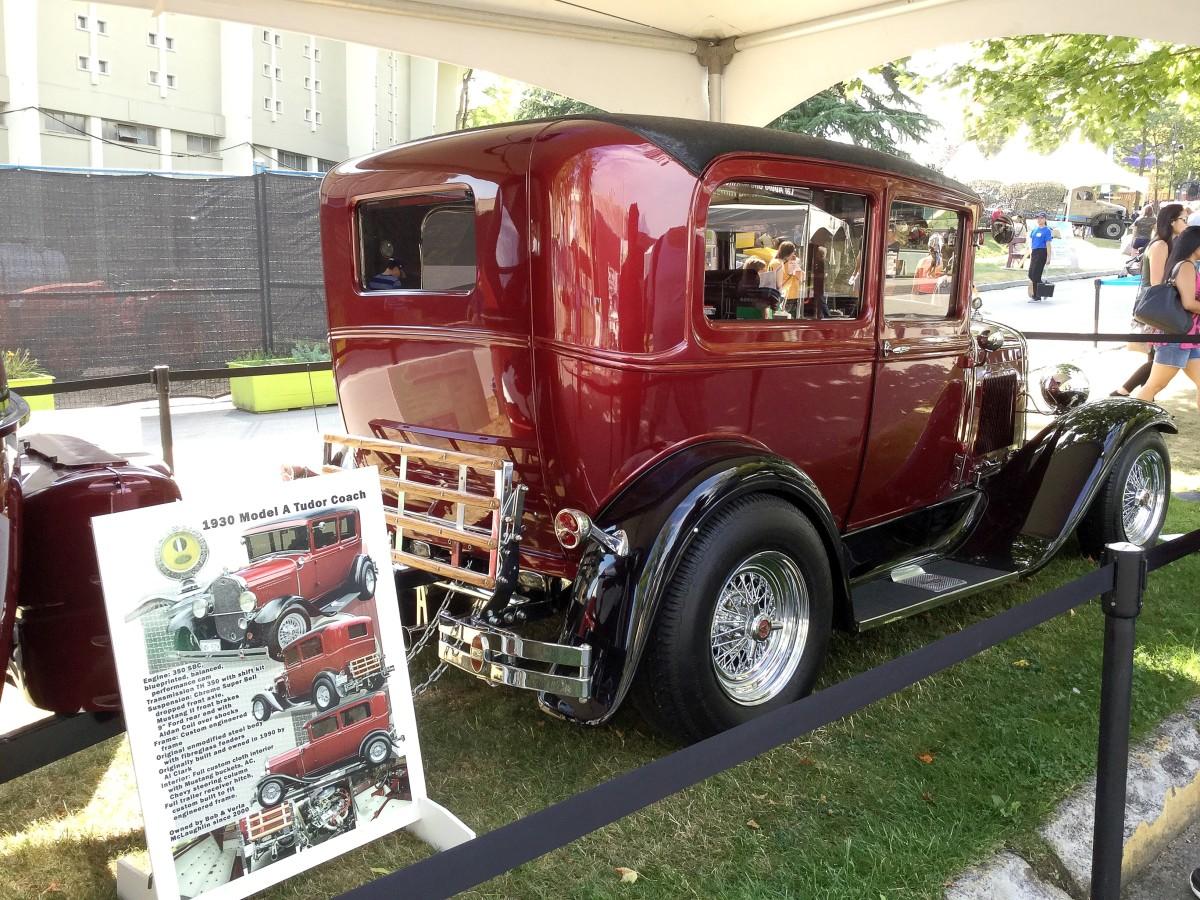 A 1930 Model A Tudor Coach