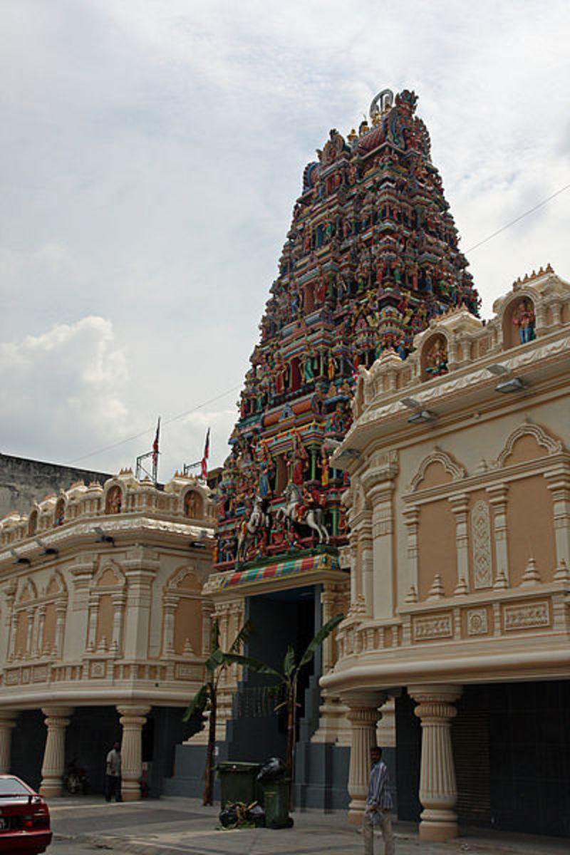 Sri Mahamariamman Temple, the oldest Hindu temple in Kuala Lumpur