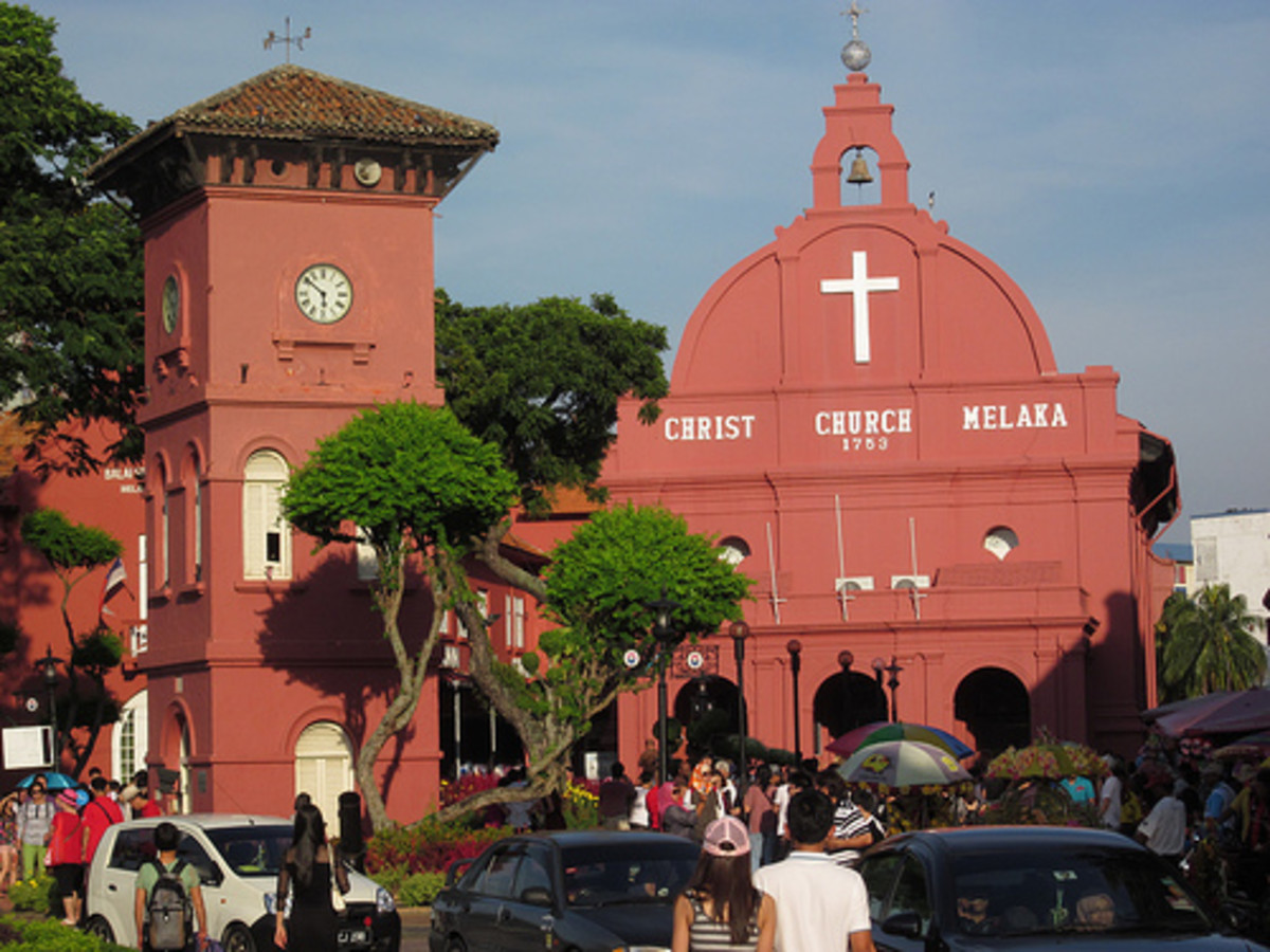 Christ Church in Malacca, Malaysia's oldest functional church