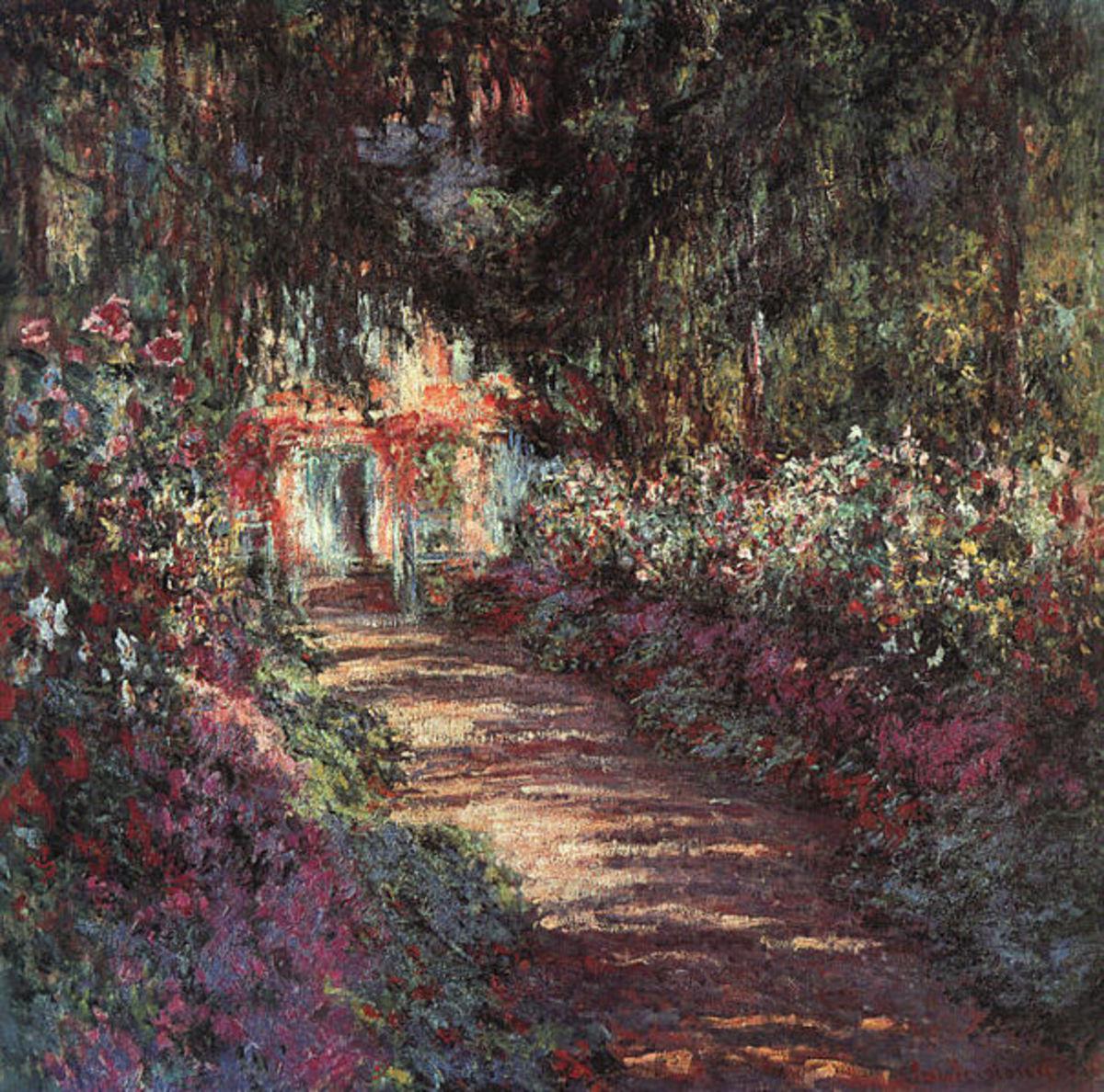 The Garden in Flower, 1900