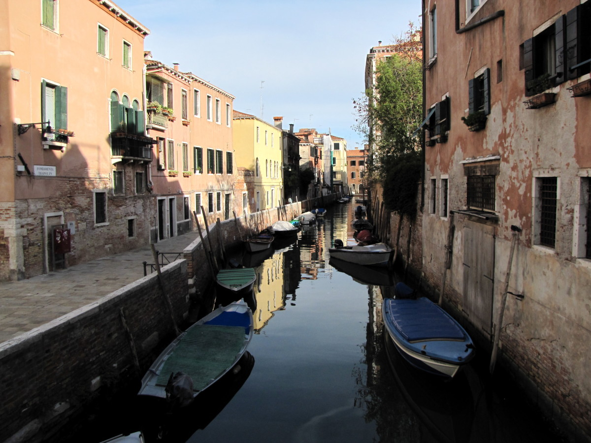 The Carnaregio District of Venice - The Quiet Side of Venice.