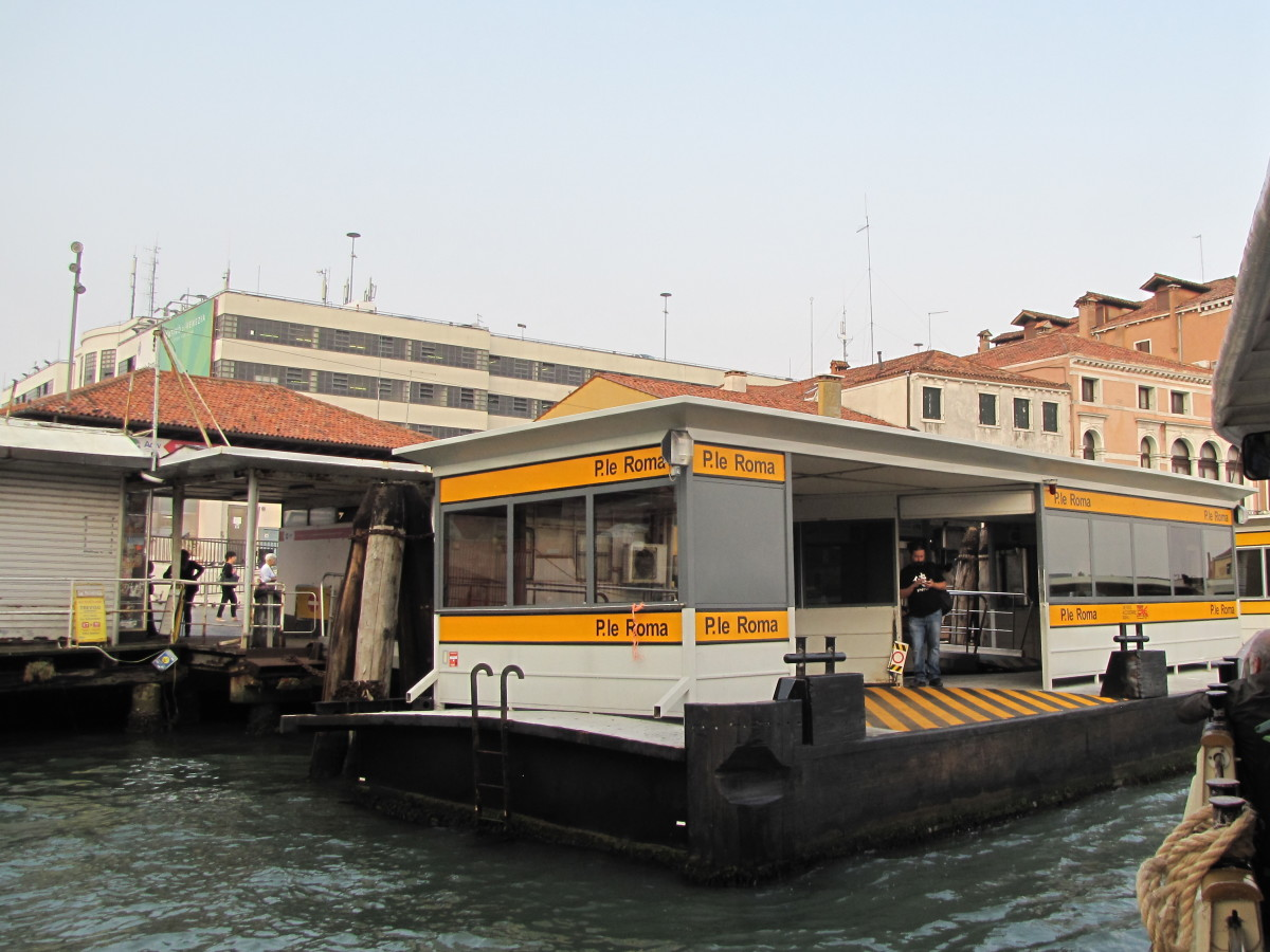 Piazzale Roma Vaporetto Station