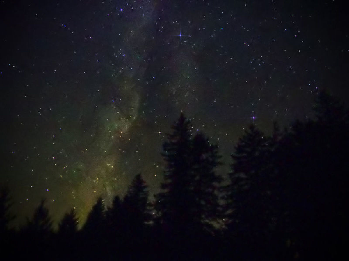 The Milky Way at  Cherry Springs State Park, Potter County, PA