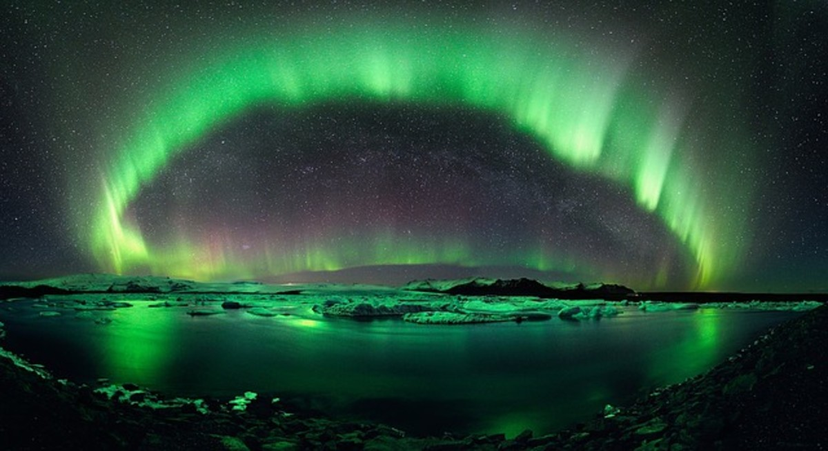 Unexpectedly high solar activity in 2007 allowed Michiganders, Central Ohioans and Pennsylvanians to view Northern Lights much like this display in September.