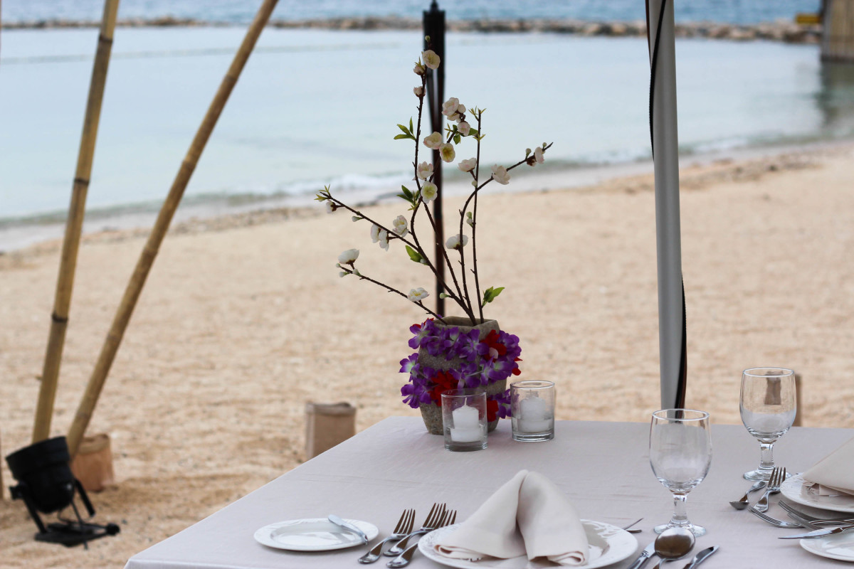 Misibis Bay can also be an ideal place for wedding proposals, honeymoon and more!