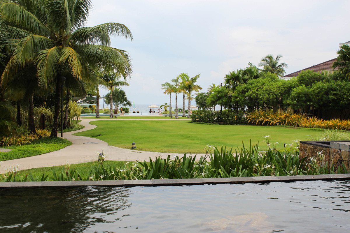 Another exhilarating view of Misibis Bay Resort - Peaceful and Prestine
