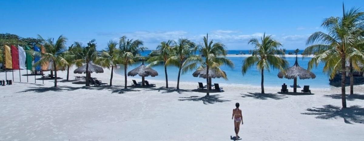 The Strand Resort in Mactan Island, Cebu.