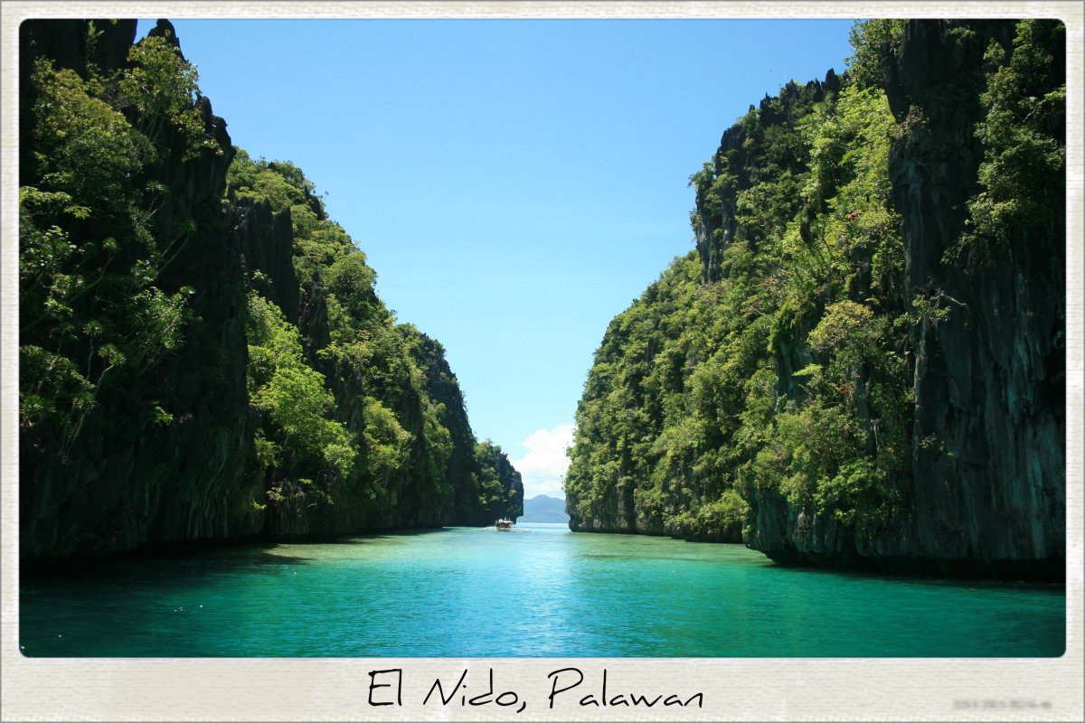 El Nido, Palawan is known for its forests, marine habitats, and limestone cliffs.