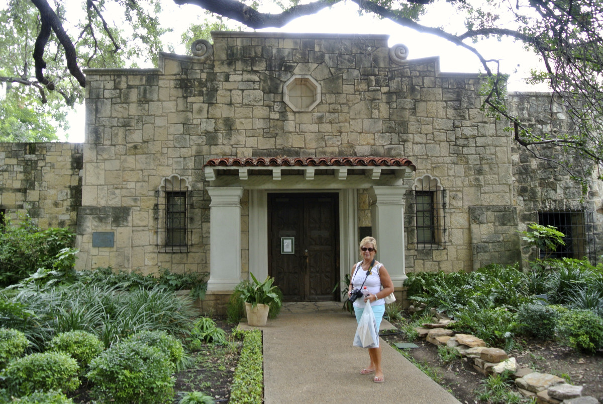 The Daughters of the Republic library at the Alamo