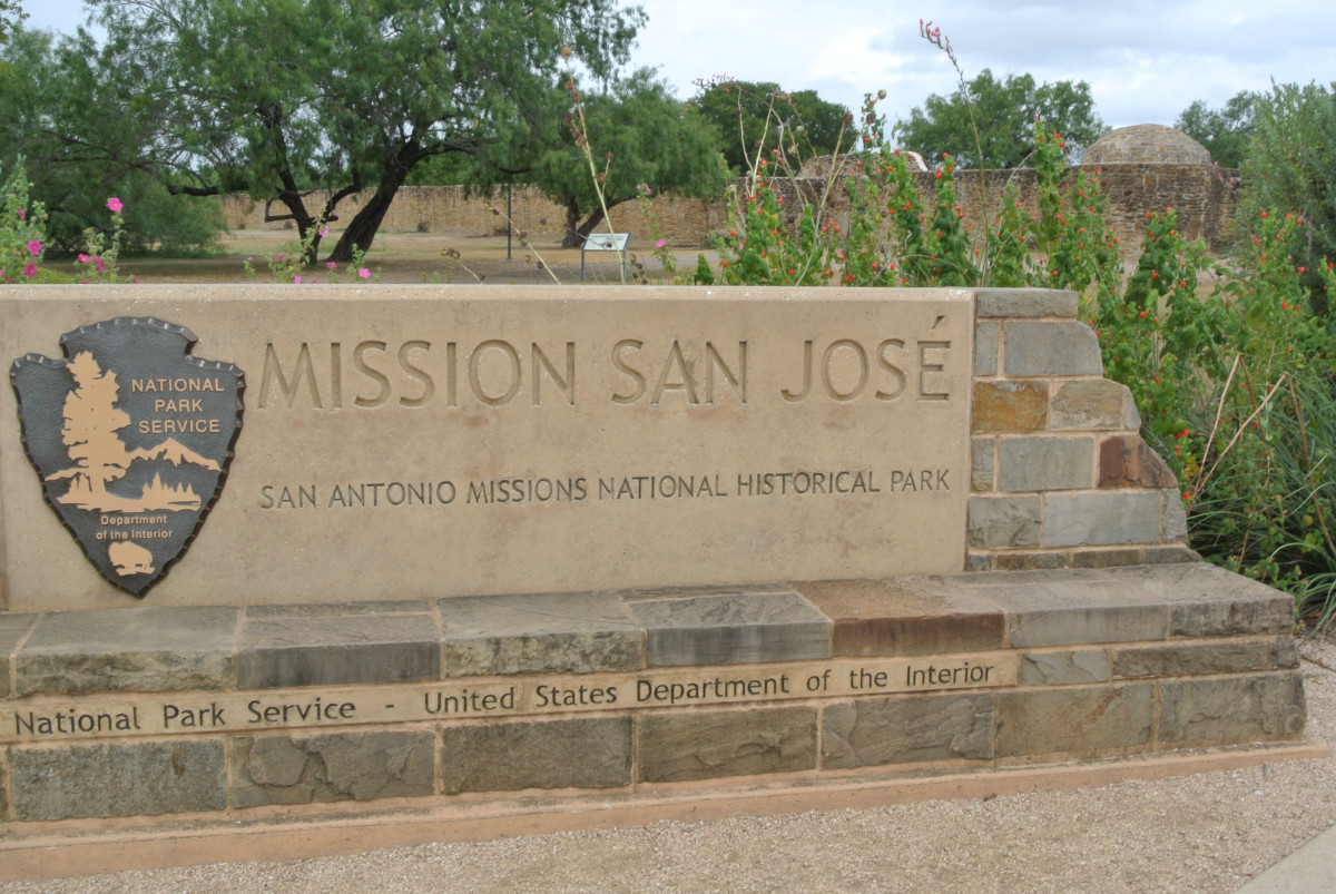 The Mission San José is part of the San Antonio Missions National Historical Park