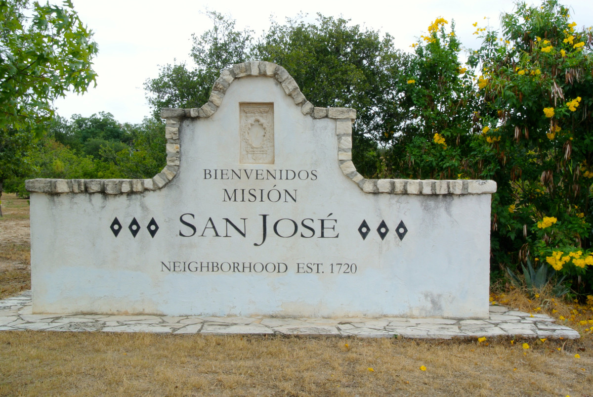 Mission San José in San Antonio