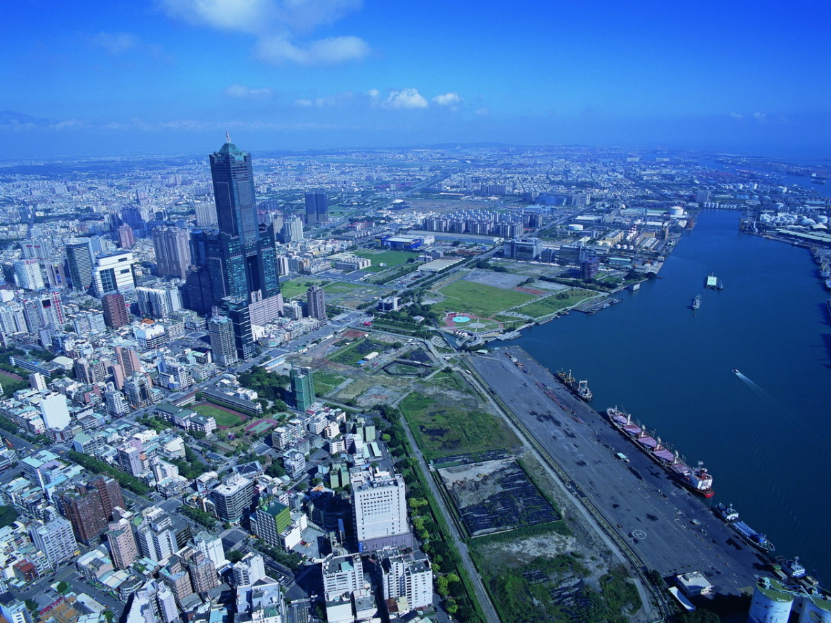 Kaohsiung from the sky.