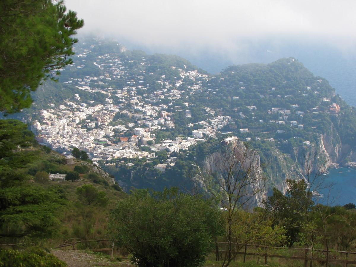 The View of Capri.