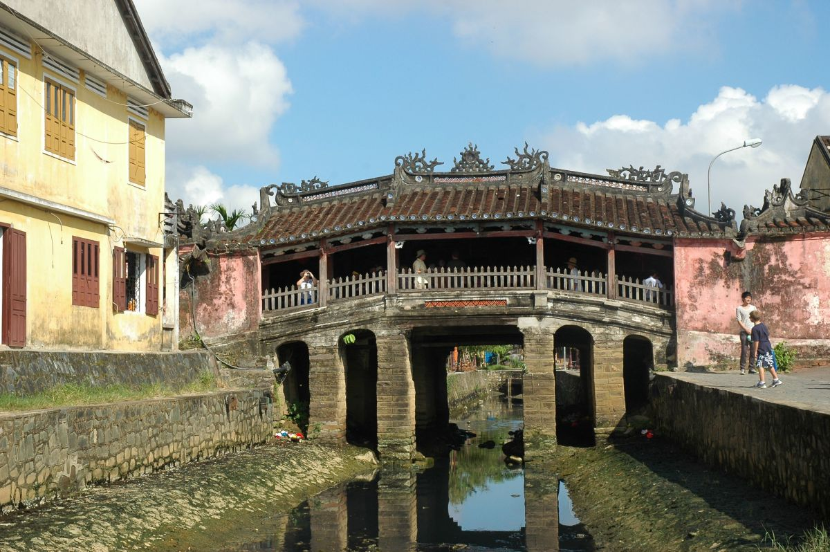 The Japanese Bridge, Hoi An © A Harrison