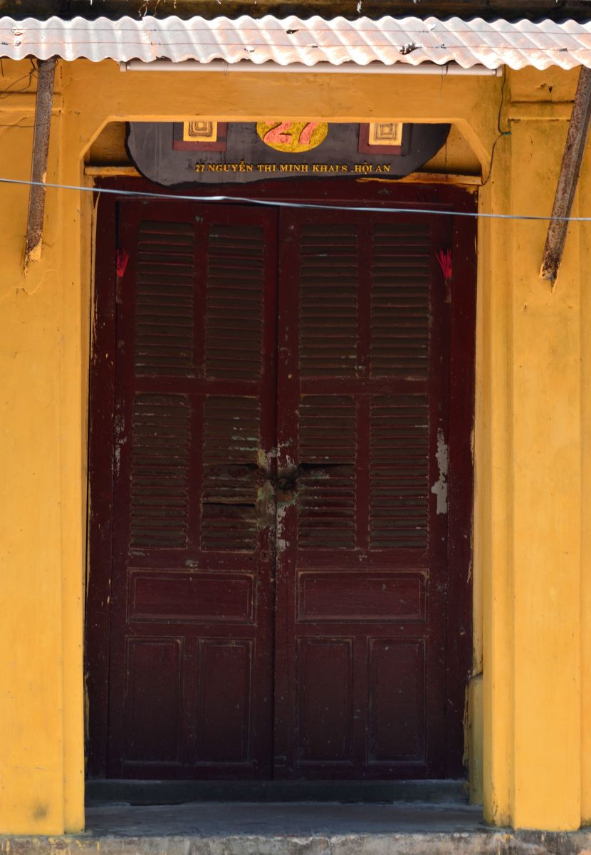 An old doorway, Hoi An © A Harrison