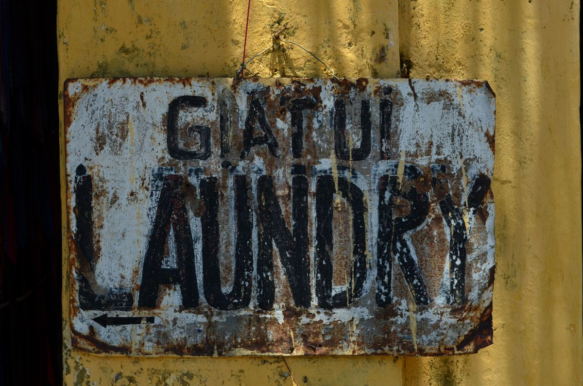 An old street sign, Hoi An (c) A. Harrison
