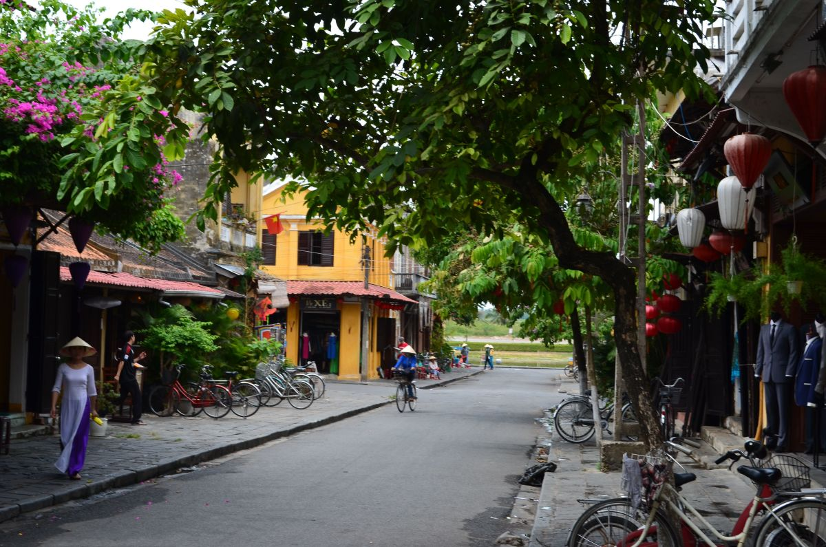 A street in Hoi An © A Harrison