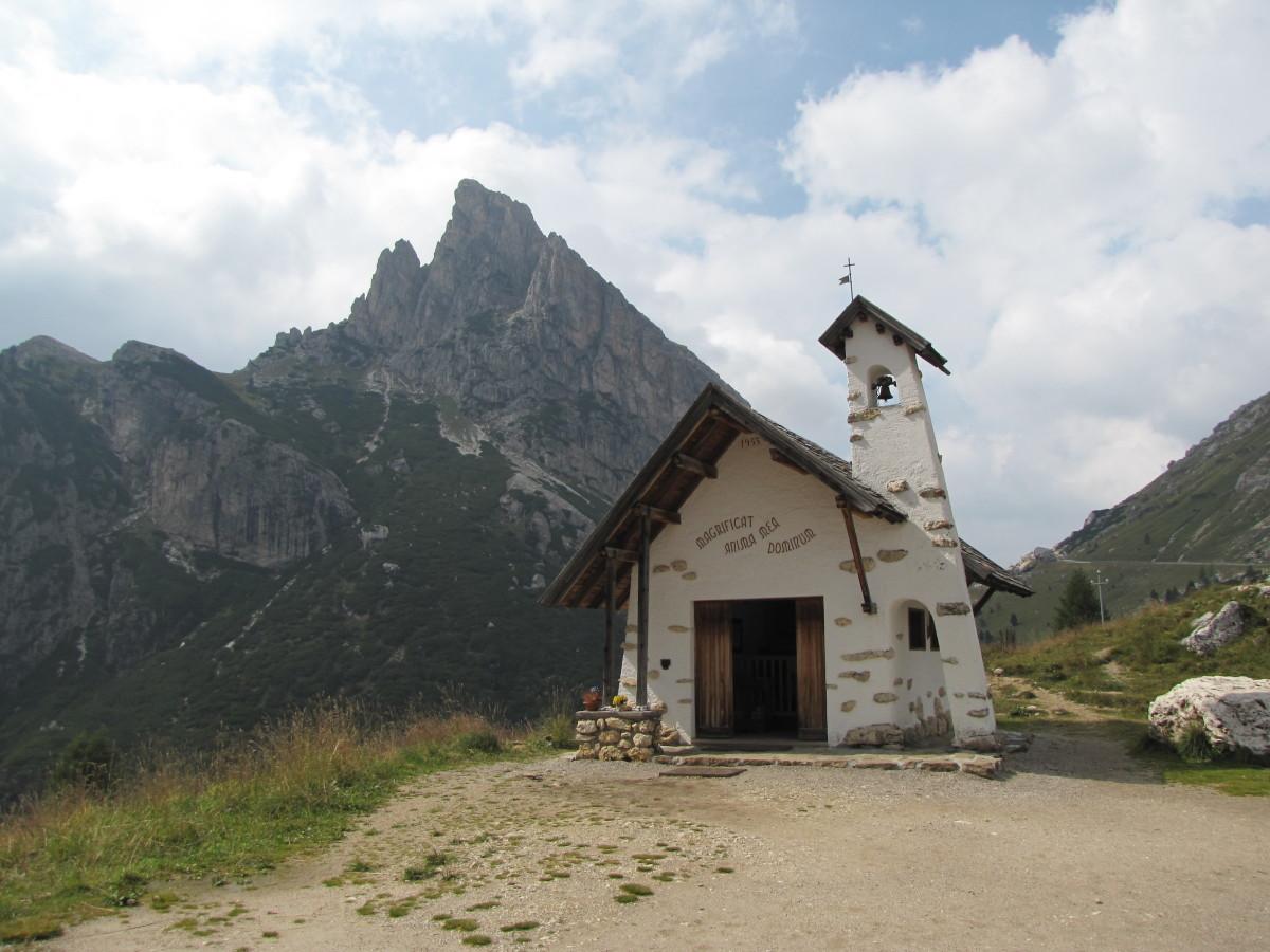 Falzarego Pass Chapel