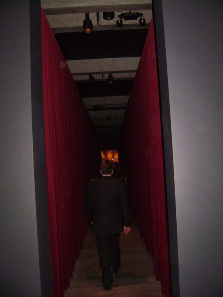 Sex and Death hallway