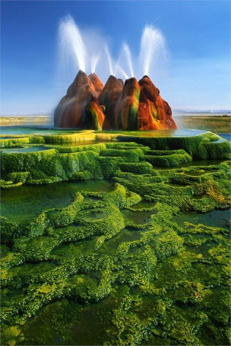 Nevada's Fly Geyser
