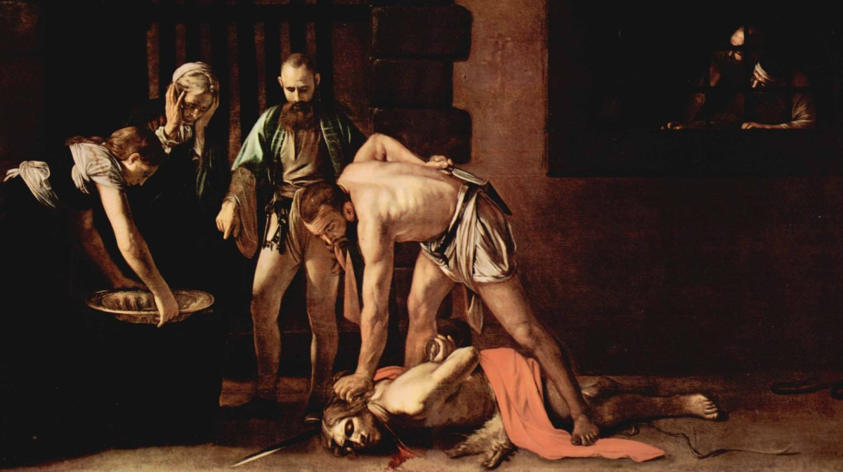 Caravaggio's Beheading of St John the Baptist