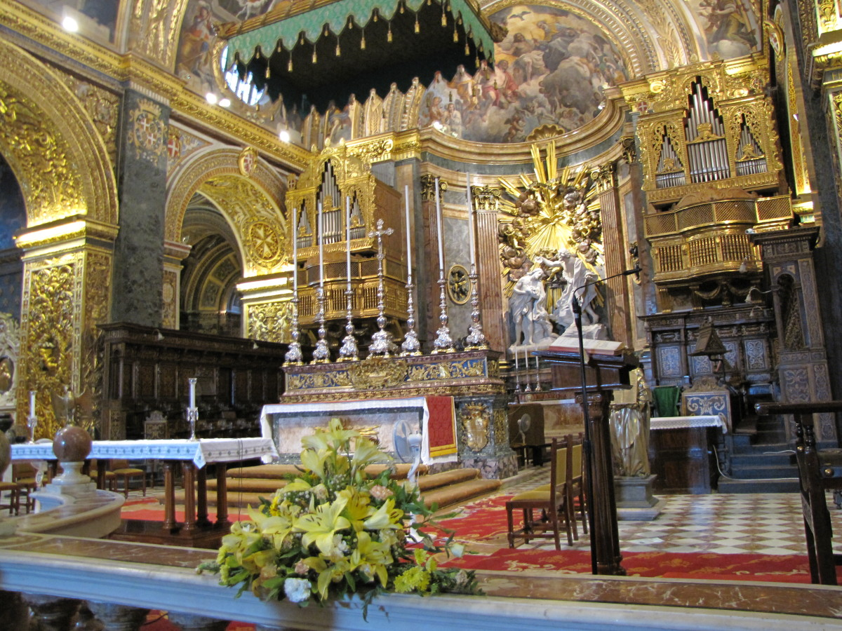 High Altar of St John's Cathedral