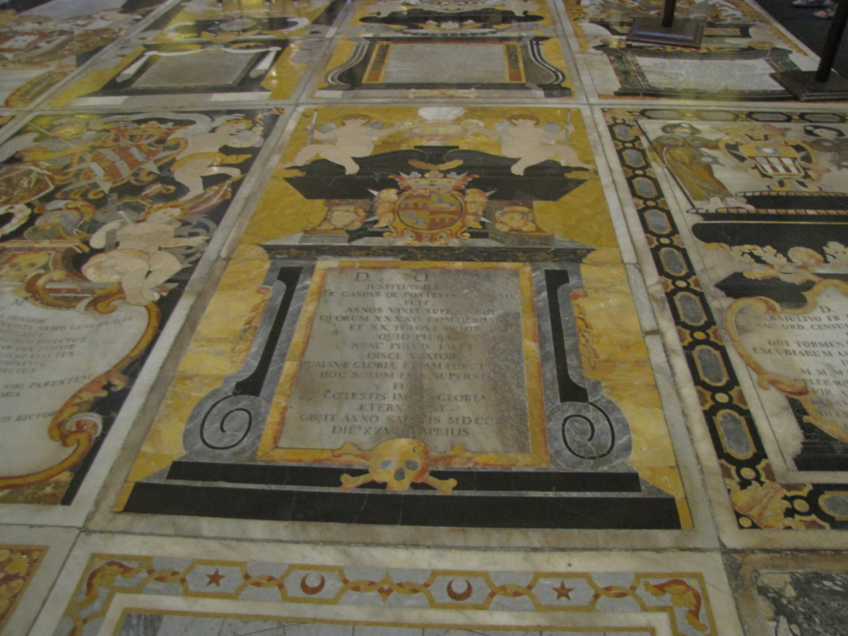 Marble Floor Tombs