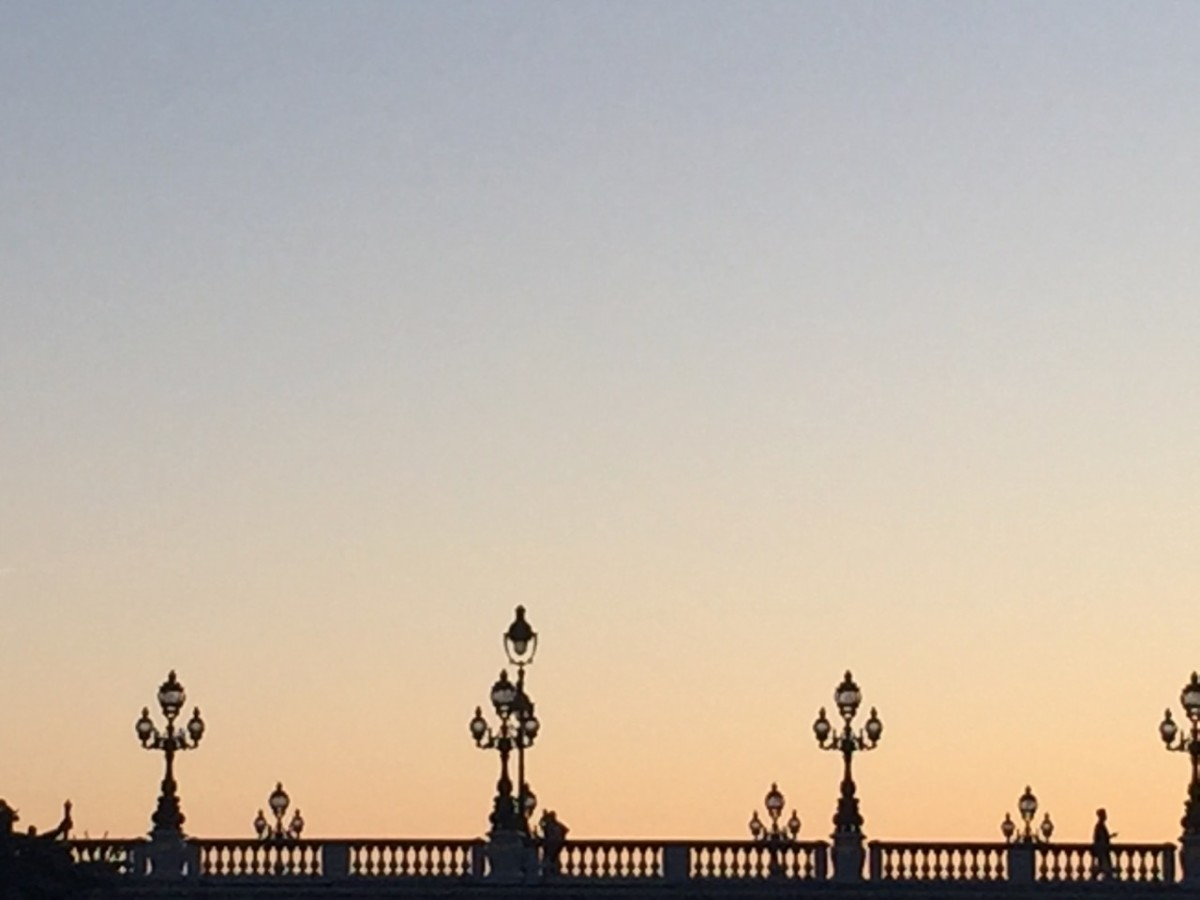 Paris at sunset (c) A. Harrison