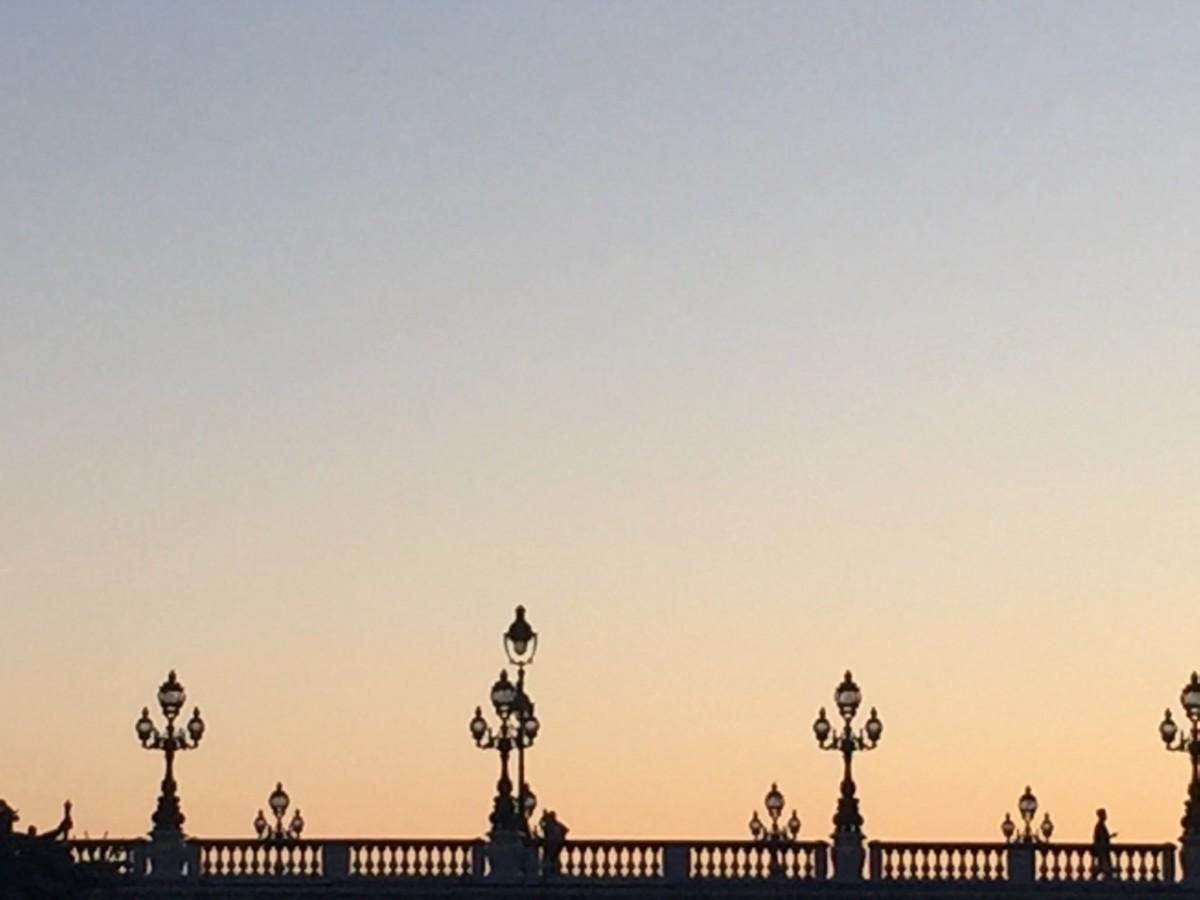Paris at sunset (c) A. Harrison