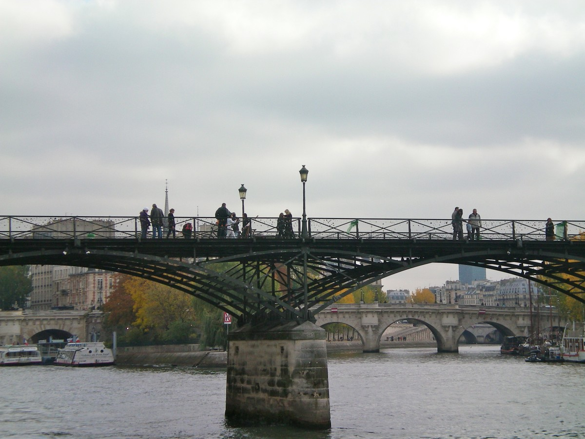 The Lovelock Bridge, Pont de l'Archevêché, Paris (c) A. Harrison