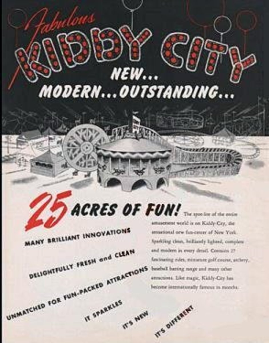 The owners of Kiddy City had ambitions of building it into a major amusement park. And surrounded by acres and acres of undeveloped landfill, they could have easily expanded to the size of Disneyland. A fire put an end to those ambitions.