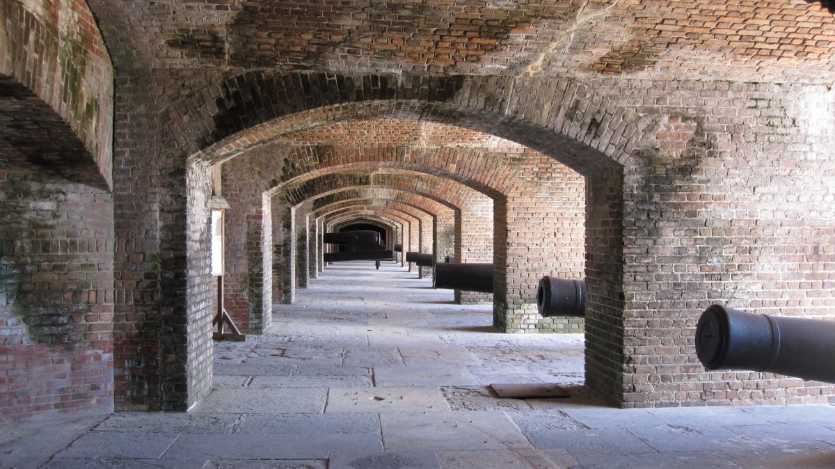 Inside Civil war-era Fort Zachary Taylor