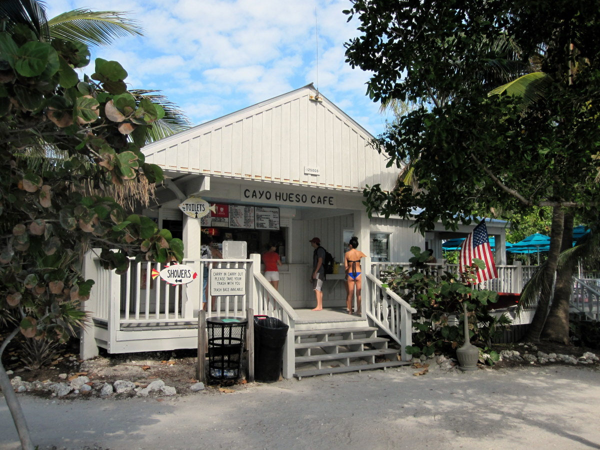 Visit Cayo Hueso Café for food and beverages as well as  gifts and beach rentals.
