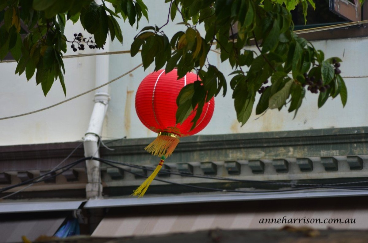 Lanterns fill the streets