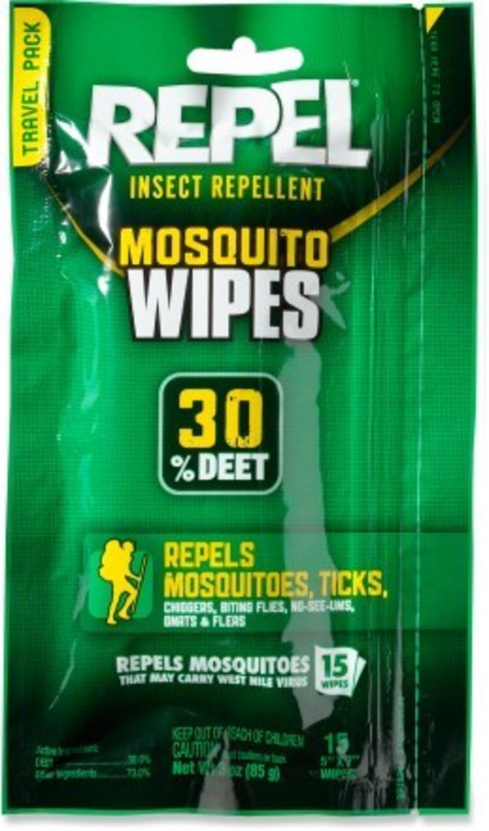 DEET Wipes are a convenient, effective & long-lasting insect repellent