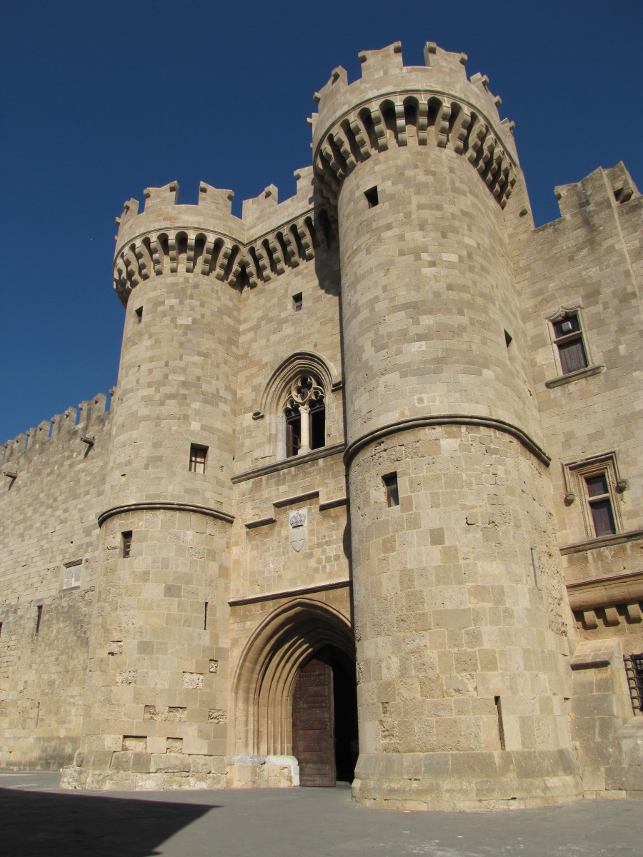 One Day in Rhodes, Greece - The Palace of the Grand Master