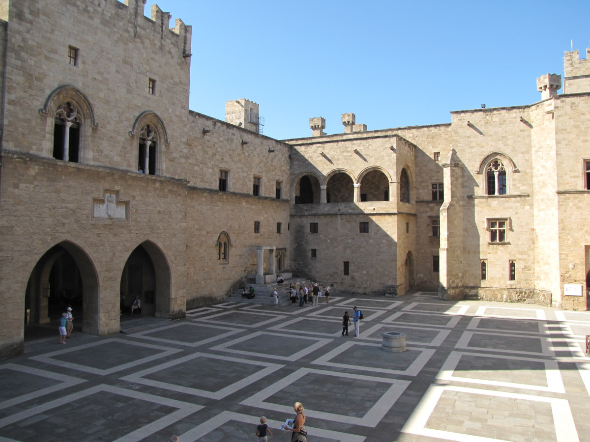 Palace Courtyard