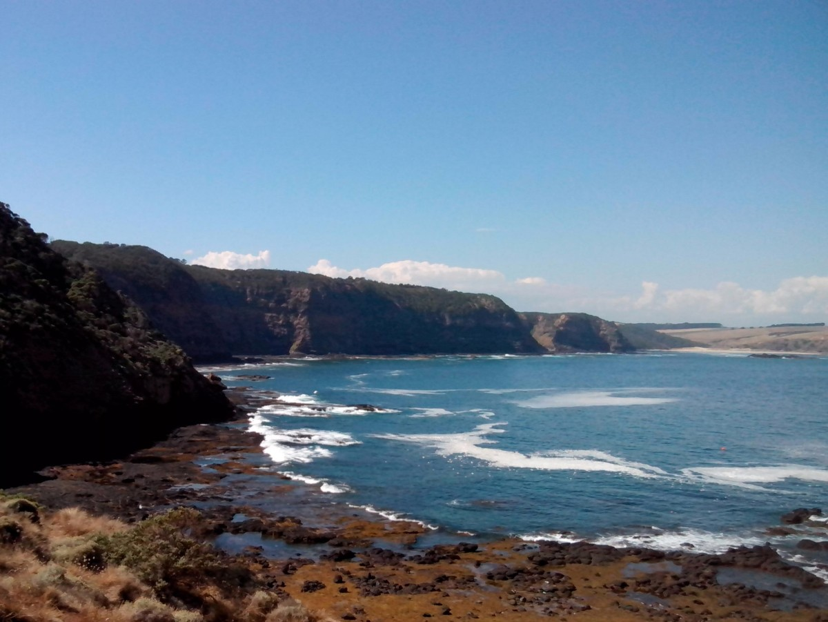 Bushrangers Bay in the distance.