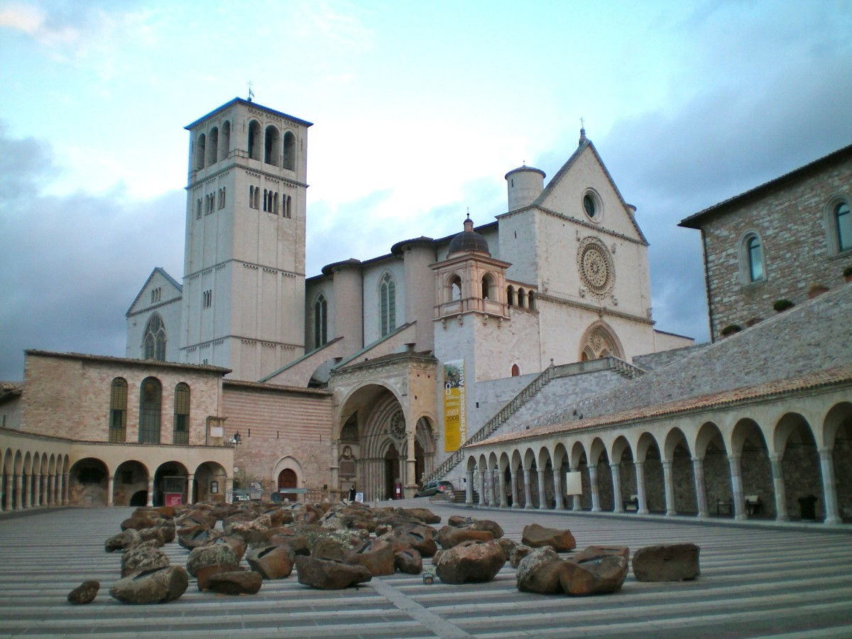 Entrance to the Lower Basilica