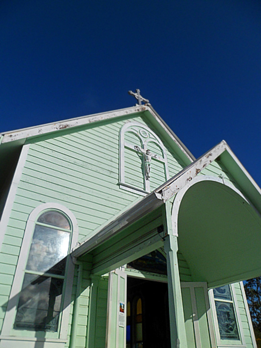 Star of the Sea Church is an important part of Kalapana history.