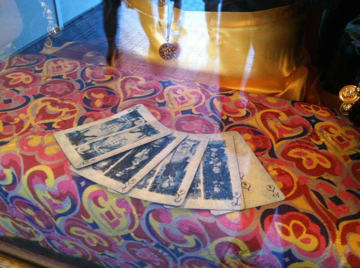 Here is a close look at the deck of cards!