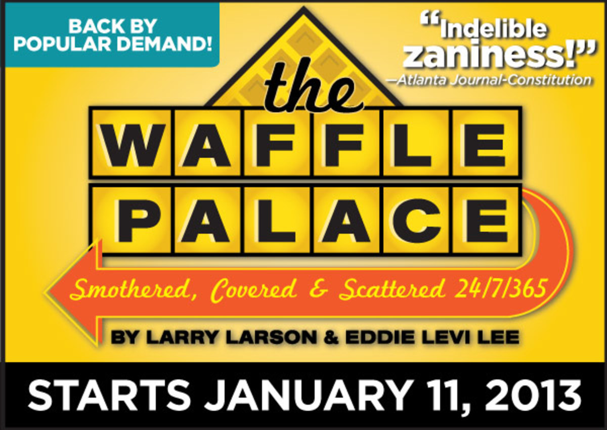 """The Waffle Palace,"" Horizon's current show as of writing, seems to be a comic hit for the theatre.  Image courtesy of Horizon Theatre."